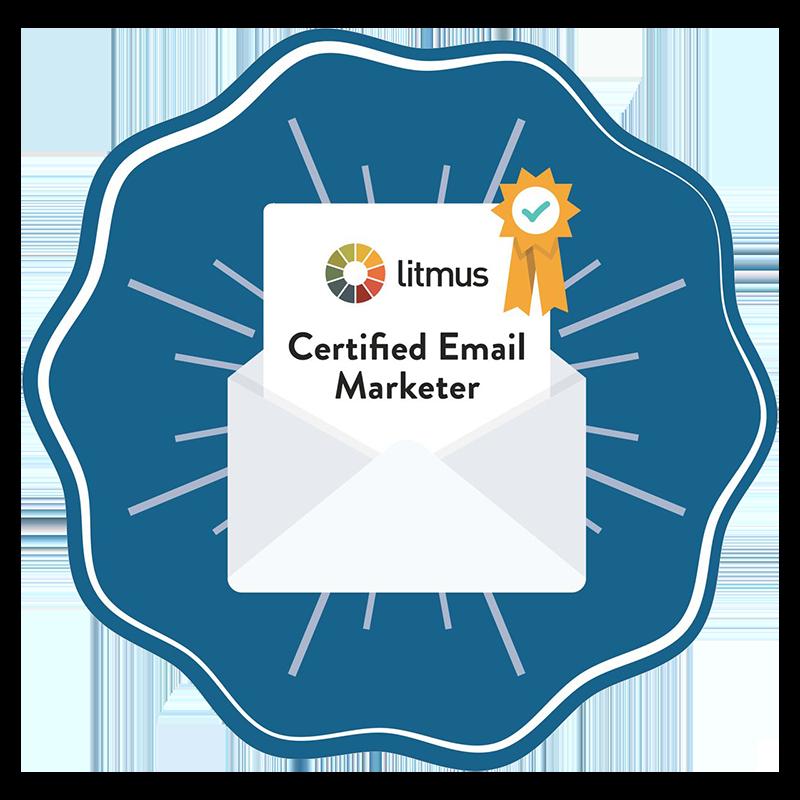 Johan van JV Digital - Litmus Certified Email Marketer
