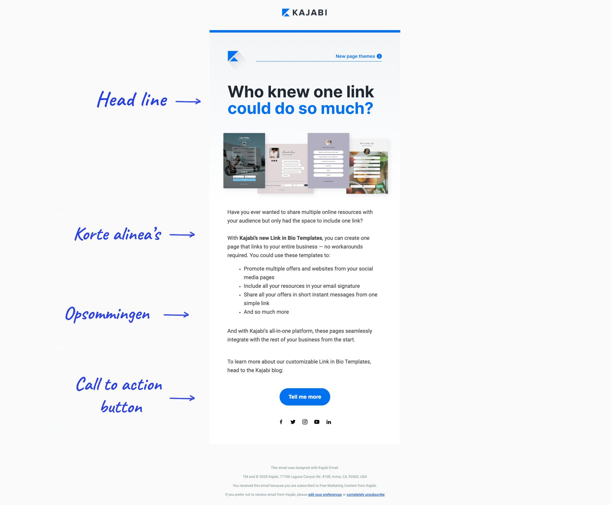 E-mail marketing tips: Maak je mail scanbaar